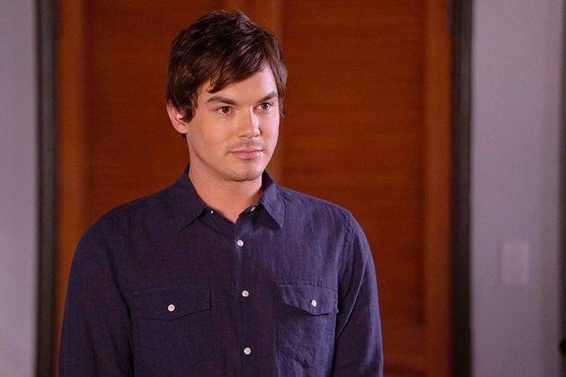 Tyler Blackburn, alias Caleb Rivers dans