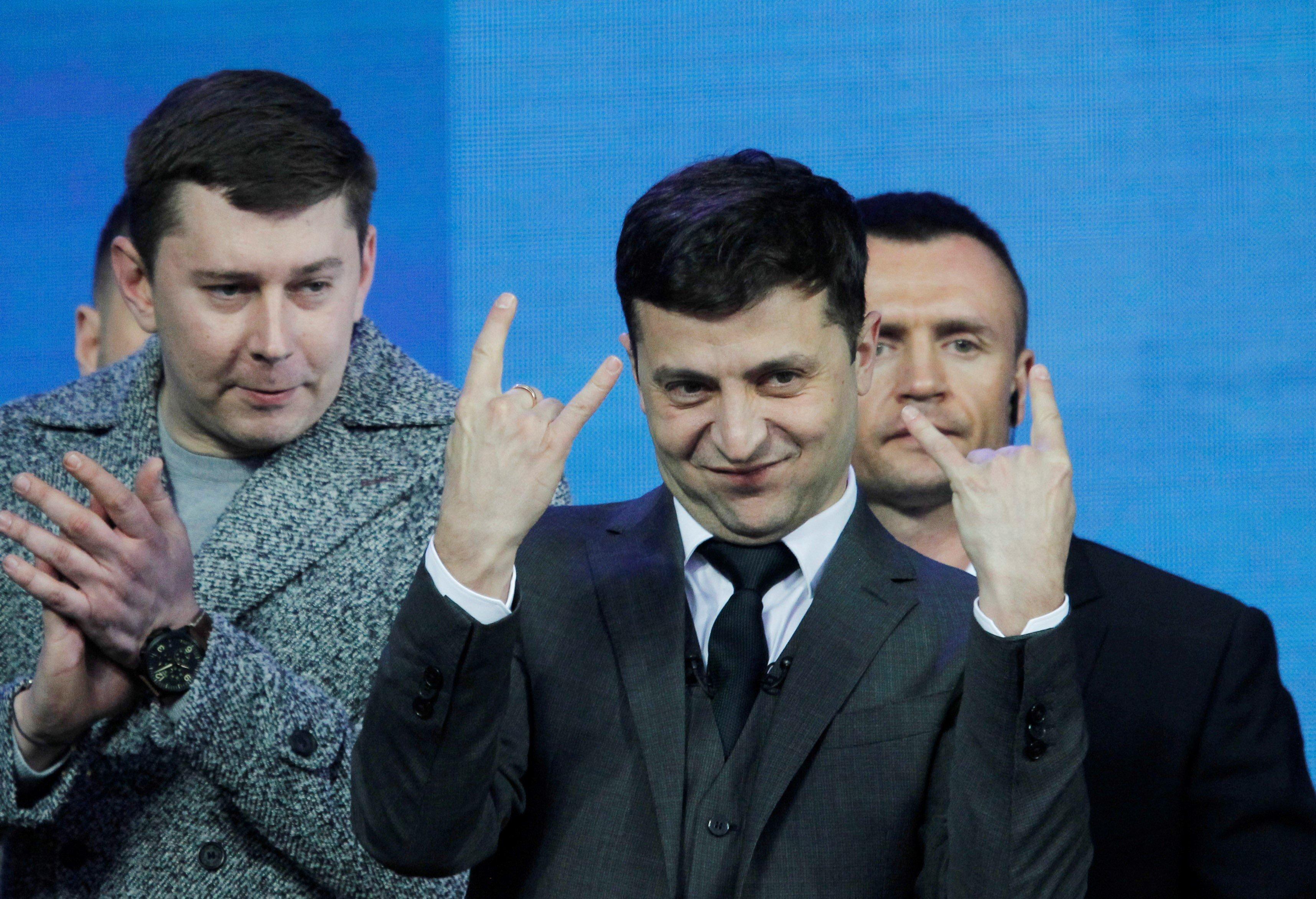 Así es Vladímir Zelenski, el 'José Mota' de Ucrania que se ha convertido en