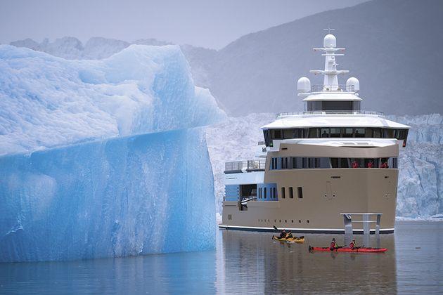 Ιδιωτικό παγοθραυστικό Ρώσου δισεκατομμυριούχου θα ταξιδέψει στην Ανταρκτική το