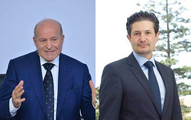 Les frères Kouninef et Issad Rebrab
