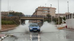 El temporal de lluvia deja 250 l/m2 en Xàbia y un centenar de