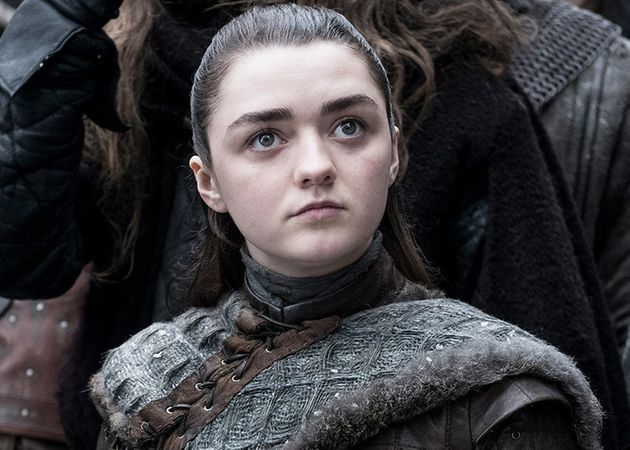 "Game of Thrones"" s08e02: Maisie Williams (Arya Stark) a cru à une blague en  découvrant le script | Le HuffPost"