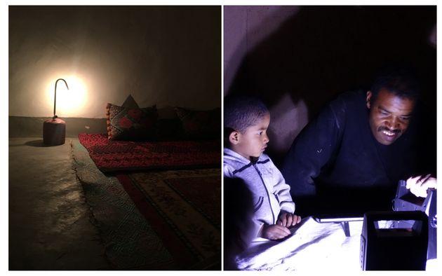 Des kits d'électricité sont distribués aux familles qui n'ont pas les moyens d'en