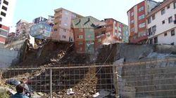 Τετραώροφο κτίριο κατέρρευσε στην