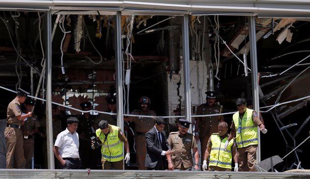 Dos españoles, entre los fallecidos en los atentados en Sri