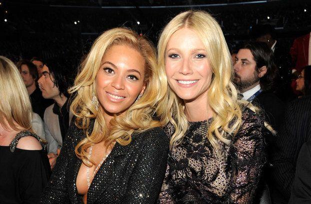 A cantoraBeyoncé e a atriz Gwyneth Paltrow são melhores