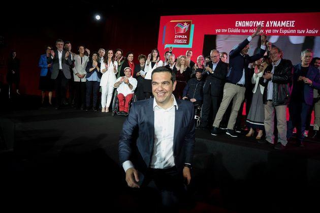 Το ευρωψηφοδέλτιο του ΣΥΡΙΖΑ παρουσίασε ο Αλέξης Τσίπρας: «Έχουμε την dream