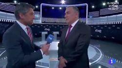 El comentario de Carlos Franganillo antes del debate de TVE que ha sorprendido a Xabier