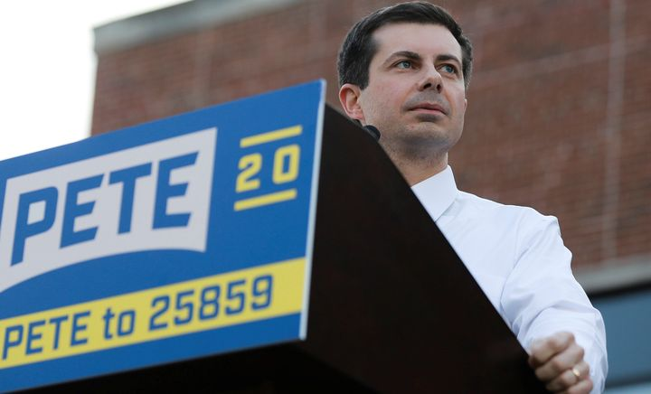 Pete Buttigieg, mayor of South Bend, Indiana, has shot up in polls of 2020 Democratic presidential primary candidates.