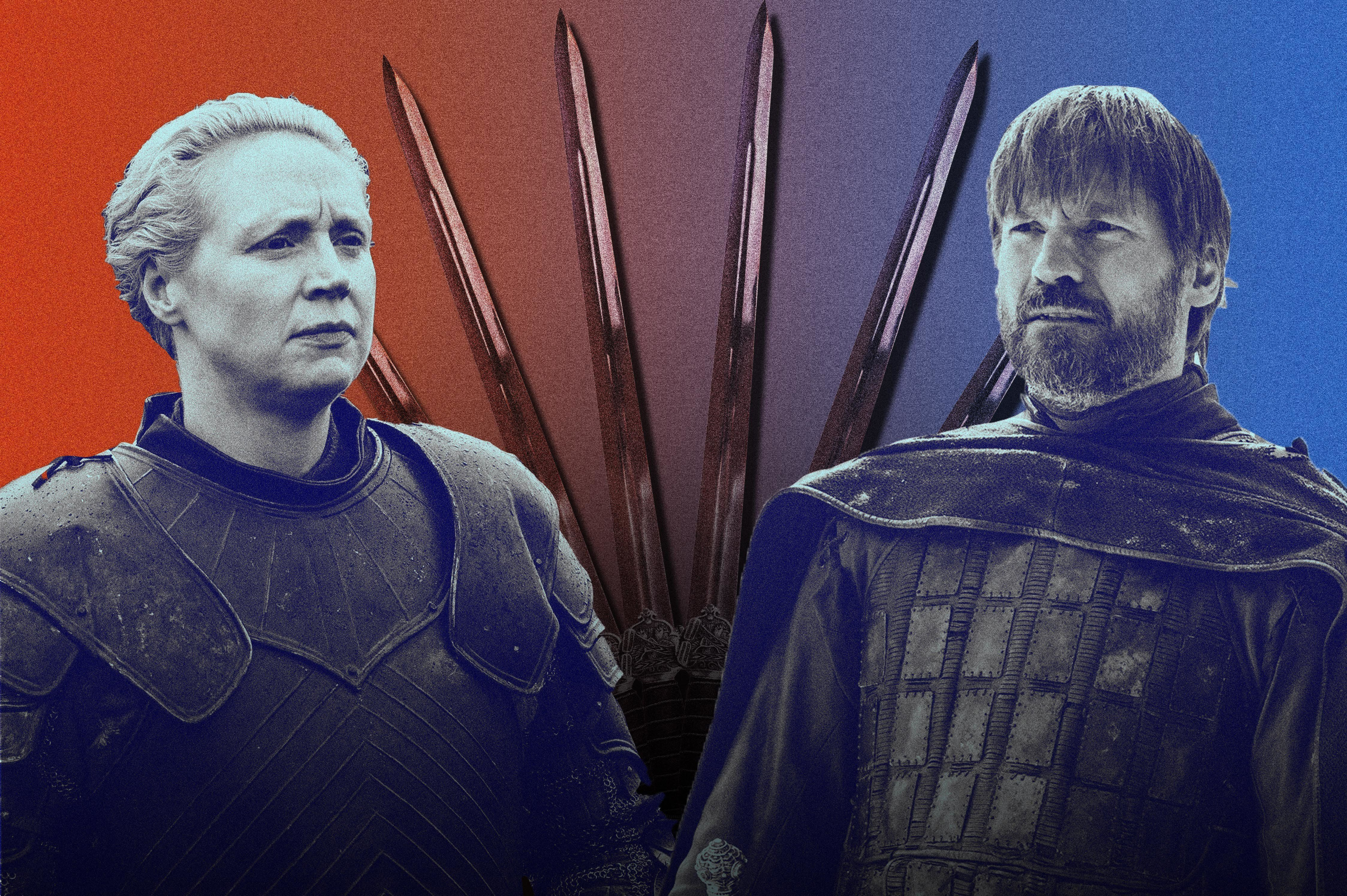 Jaime And Brienne's Swords May Hold An Icy Secret On 'Game Of Thrones'