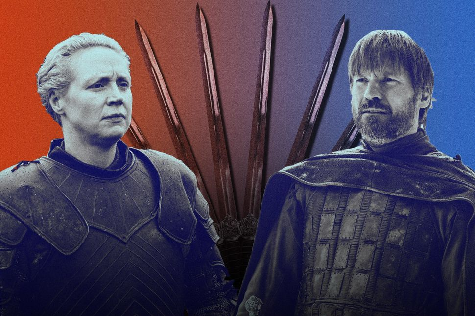 Jaime And Brienne's Swords May Hold An Icy Secret On 'Game