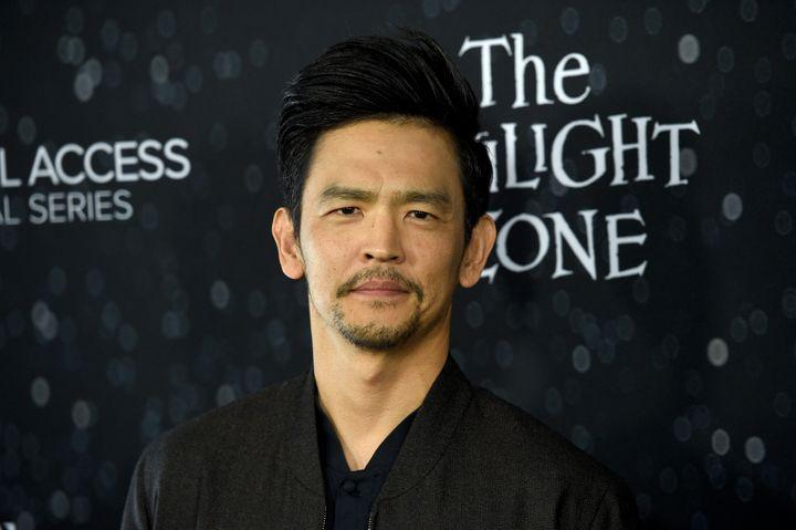 Actor John Cho.