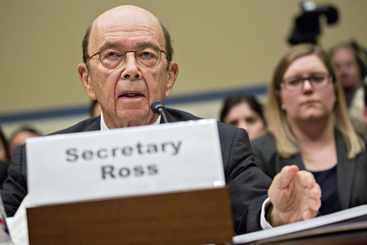 The Supreme Court on Tuesday reviewed a controversial decision by Commerce Secretary Wilbur Ross to add a citizenship questio