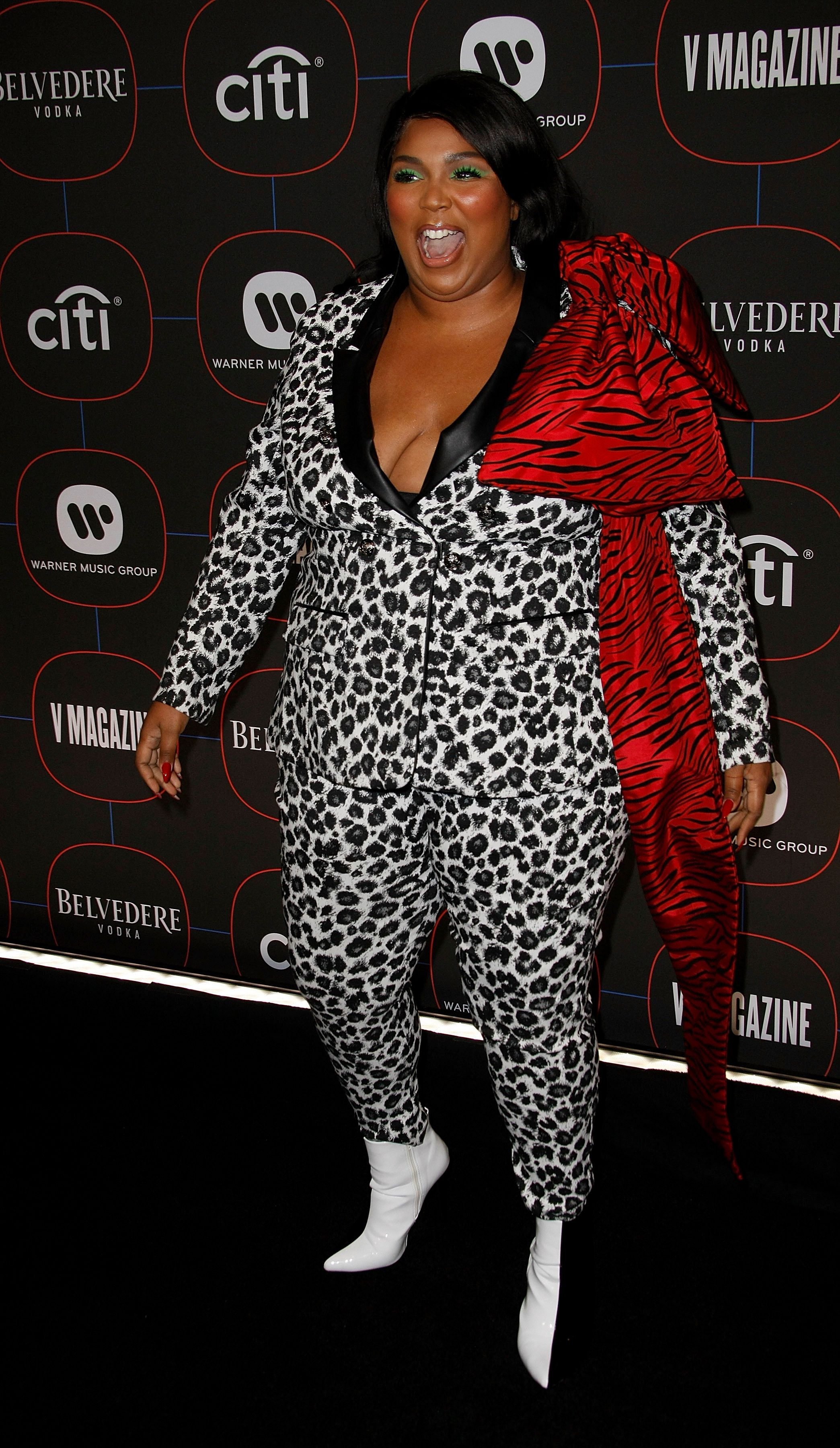 LOS ANGELES, CA - FEBRUARY 07: Lizzo attends the Warner Music Pre-Grammy Party at the NoMad Hotel on February 7, 2019 in Los Angeles, California. Photo: CraSH/imageSPACE/MediaPunch /IPX