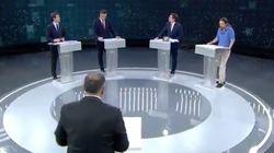 "Carmen Lomana estalla durante el debate por un candidato: ""Me da bajonazo"