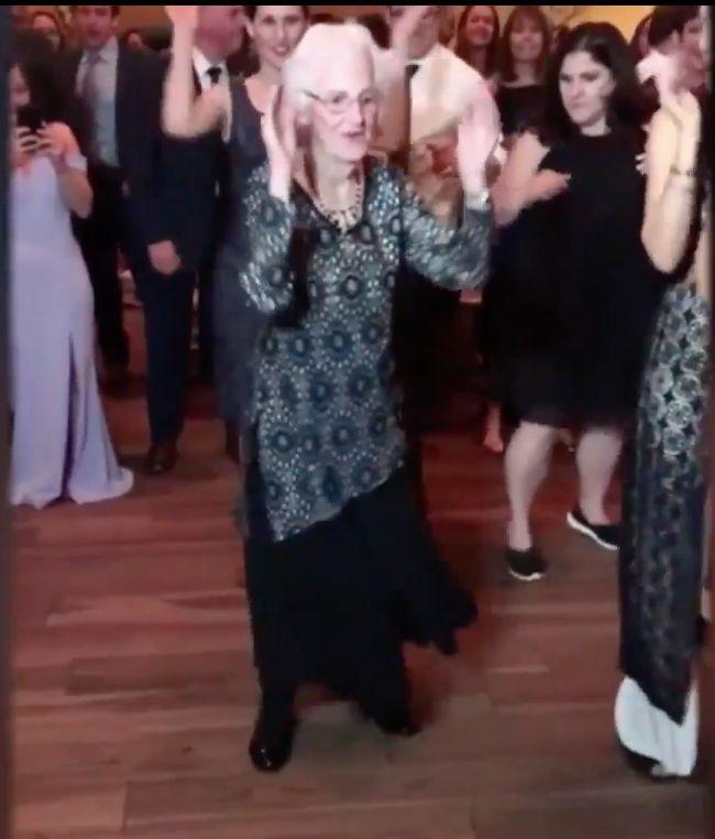 Shirley Goodman still dances at 96