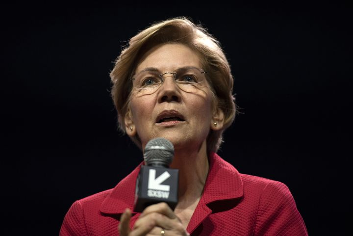 Warren promised no quick fixes in the book she wrote about handling money -- just diligence, patience and common sense.