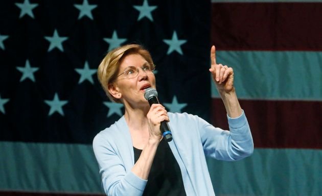 Democratic presidential hopeful Elizabeth Warren explains why she wants to break up
