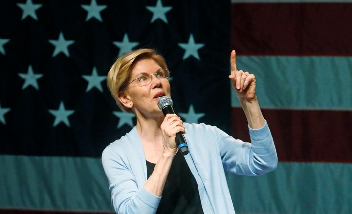 Democratic presidential hopeful Elizabeth Warren explains why she wants to break up Amazon.