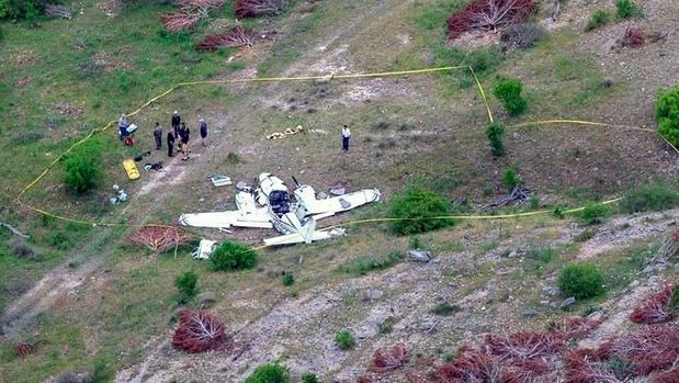 DALLAS — A man who was part-owner of a plane that crashed Monday in Texas, killing all six people aboard, said he and his friend who owned the plane regularly volunteered to fly sick people in remote parts of the country to hospitals in Houston and Dallas.Officials have not yet released the identities of the six aboard the aircraft when it crashed into the rocky hills of a central Texas ranch, according to authorities, while preparing to land. Charles Morina of Dallas told The Associated Press that he did not know if his partner was among those aboard, nor did he know what caused the crash.The twin-engine aircraft went down just before 9 a.m. as it approached an airport in Kerrville, a city about 70 miles (110 kilometres) northwest of San Antonio, according to Federal Aviation Administration spokesman Lynn Lunsford.The pilot and the five other people aboard the plane were all killed, said Sgt. Orlando Moreno, a spokesman for the Texas Department of Public Safety. State law enforcement officials secured the crash site ahead of FAA and National Transportation Safety Board investigators' arrival Monday.The Beechcraft BE58 took off from an airport outside Houston earlier Monday and crashed about 6 miles (10 kilometres) northwest of Kerrville Municipal Airport, Lunsford said. The flight was not a scheduled commercial route, he said.The downed plane was a manufactured by Raytheon Aircraft in 1999 and was co-owned by two people, according to FAA records.The cause of the crash hasn't been determined. There was a low layer of broken clouds but no rain in the area around the airport at the time of the crash, according to National Weather Service meteorologist Cory Van Pelt.The Associated Press