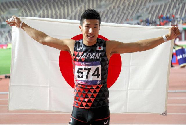 桐生祥秀、男子100Mでアジア選手権初優勝 10秒10