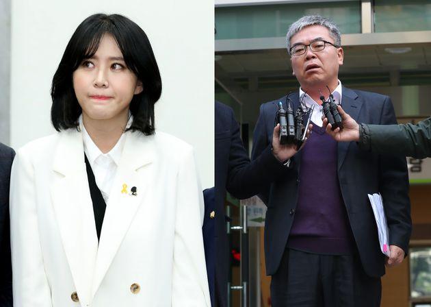박훈 변호사가 김수민 작가를 대리해 윤지오를