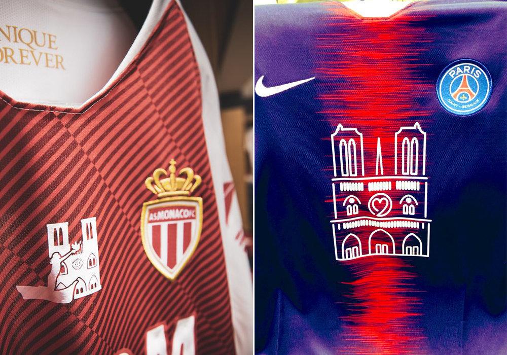『ノートルダム』への愛を胸に 仏サッカー1部・パリSG、特別ユニホームでリーグ連覇
