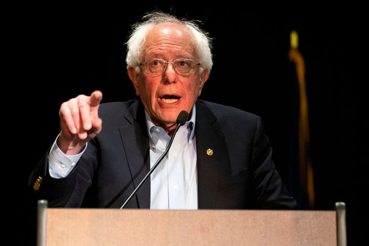 2020 Democratic presidential hopeful Bernie Sanders spoke about phasing out fossil fuels during his CNN town hall Monday nigh