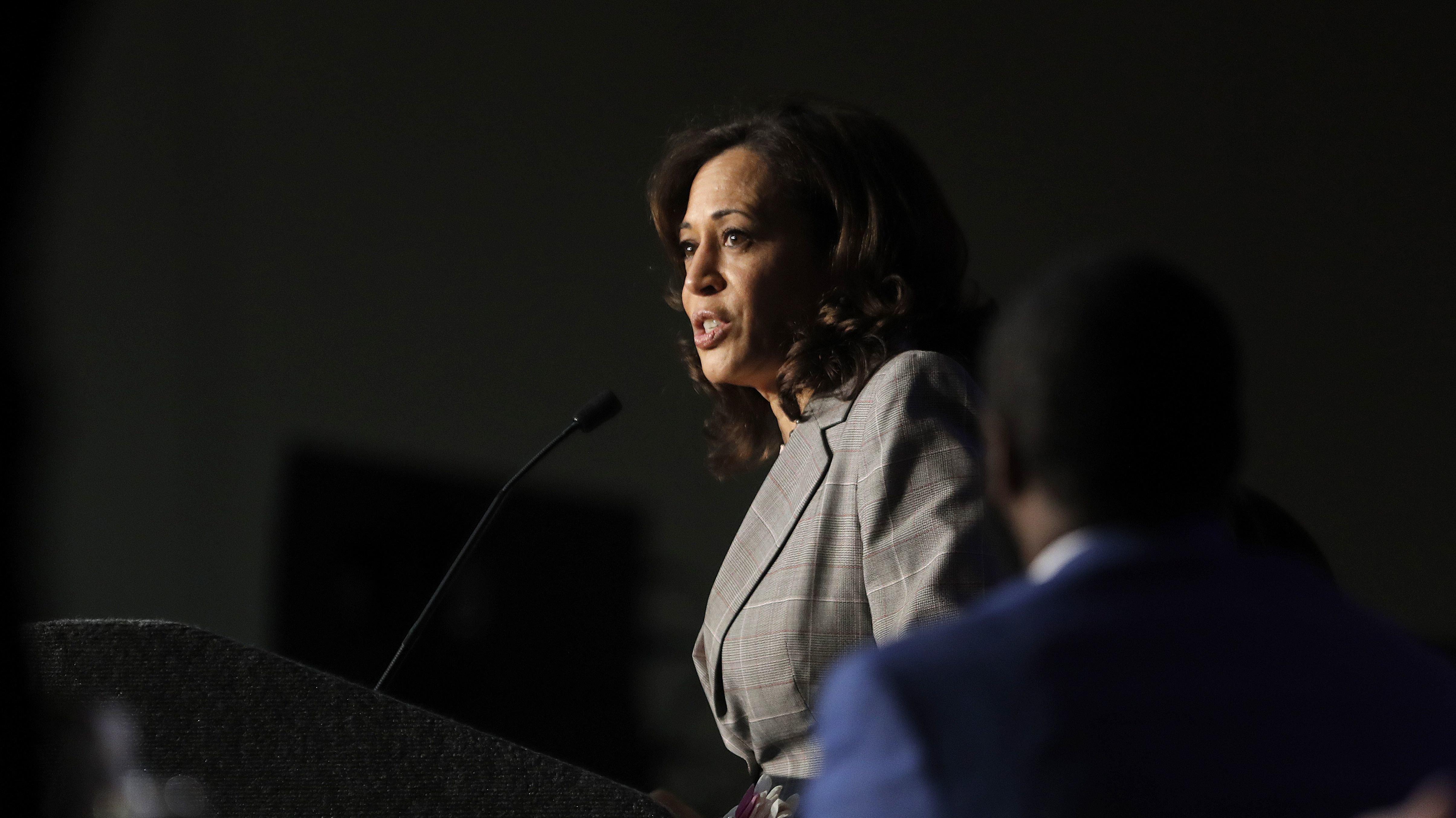 Kamala Harris Defends Her Anti-Truancy Efforts