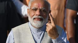 Elections Phase 3: Modi Casts Vote In Ahmedabad, Greets Voters Along The