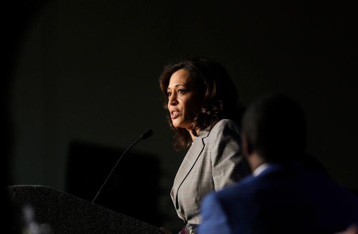 Sen. Kamala Harris (D-Calif.) championed an anti-truancy law in California.