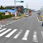 千葉・木更津で小3死亡する事故 目撃者「赤信号、減速せず突っ込んだ」
