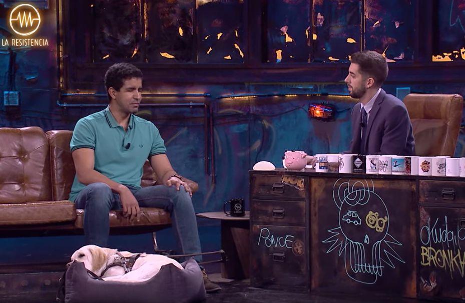 Enhamed Enhamed sorprende a David Broncano con su bonita respuesta a la pregunta del dinero de 'La