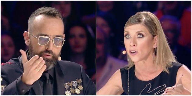 El aplaudido corte de Eva Isanta a Risto Mejide en 'Got Talent' por el lenguaje