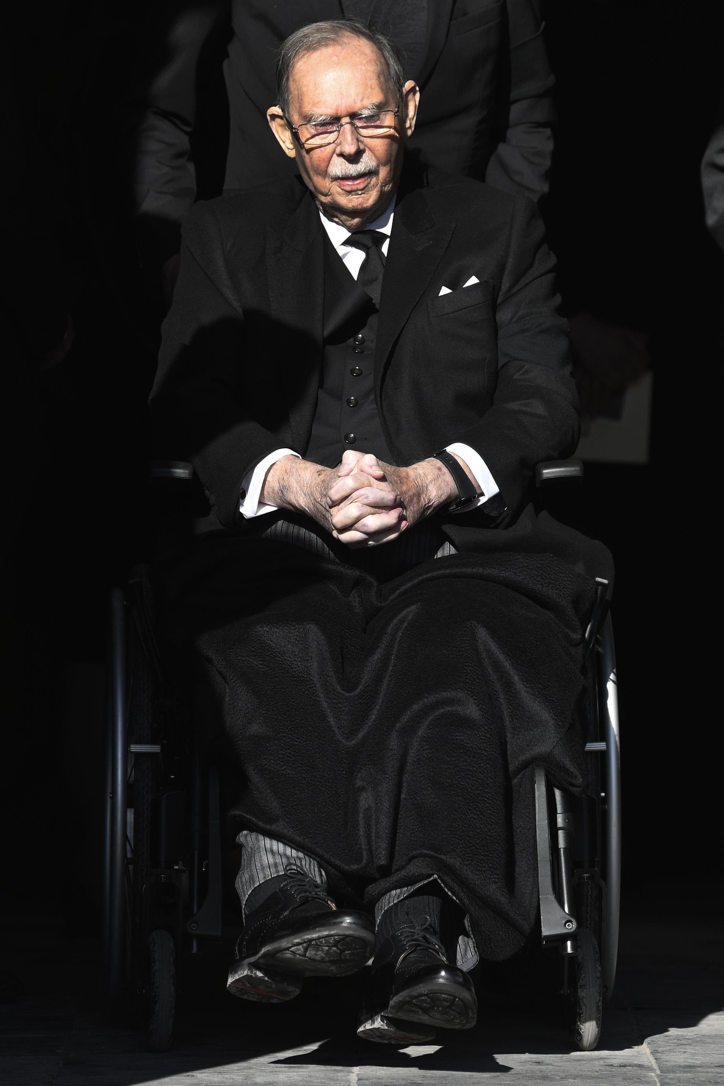 Le grand-duc Jean de Luxembourg est