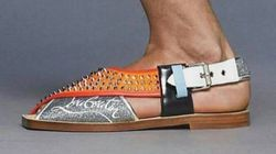 Pourquoi les nouvelles sandales Louboutin font polémique au