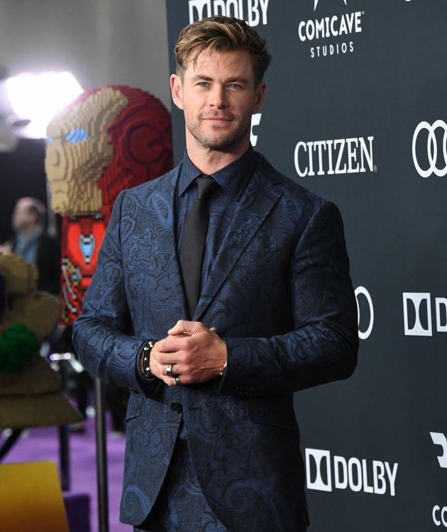 Chris Hemsworth était également sur le tapis