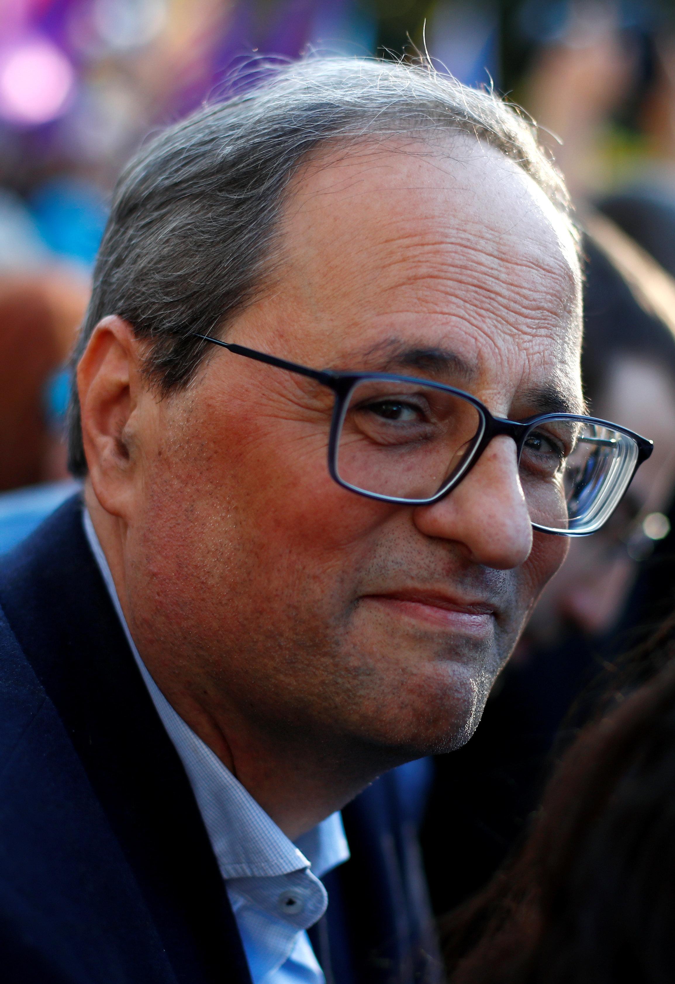 En Sant Jordi: Torra apela otra vez a la mediación internacional frente a la