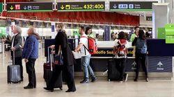 Detenido un hombre por agredir con arma blanca a dos mujeres en el aeropuerto de