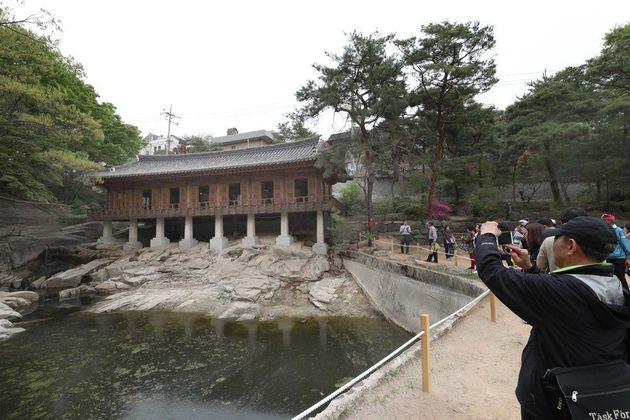 한국 3대 전통정원인 '성락원'이 200년 만에 일반에