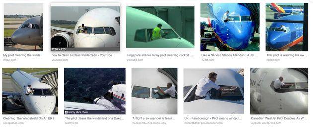 L'image d'un pilote de Tunisair en train de nettoyer le pare-brise de son avion secoue la toile: Il s'agit...