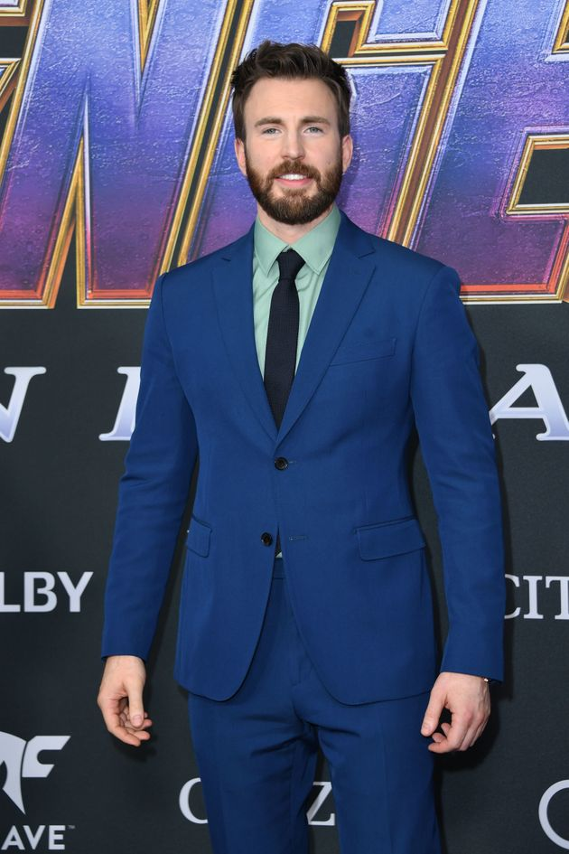 Chris Evans (Captain America) à
