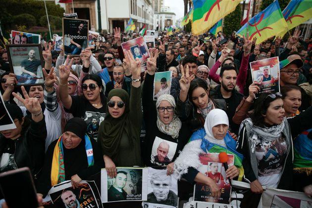 Marche à Rabat pour les détenus du Hirak: courir ensemble le marathon