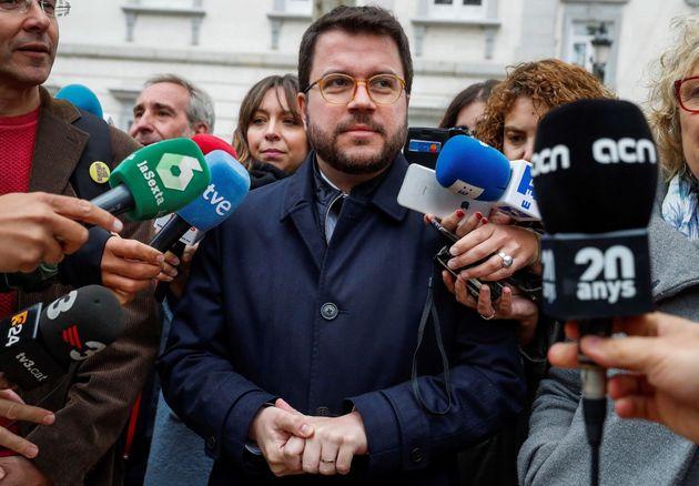 Pere Aragonés rechaza declarar ante el tribunal del