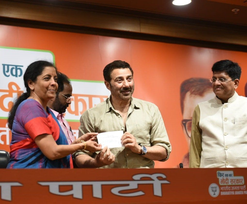'BJP's Dhai Kilo Ka Haath': Sunny Deol's Political Entry Gets The Twitter