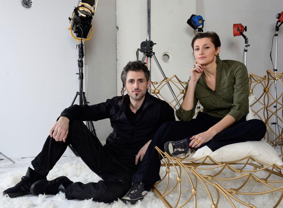 OΘάνος Ζακόπουλος και η Katia Meneghini.