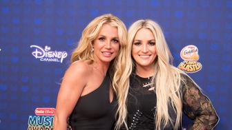 DISNEY CHANNEL PRESENTS THE 2017 RADIO DISNEY MUSIC AWARDS - Entertainment's brightest young stars turned out for the 2017 Radio Disney Music Awards (RDMA), music's biggest event for families, at Microsoft Theater in Los Angeles on Saturday, April 29. 'Disney Channel Presents the 2017 Radio Disney Music Awards' airs Sunday, April 30 (7:00 p.m. EDT). (Image Group LA/Disney Channel via Getty Images) BRITNEY SPEARS, JAMIE LYNN SPEARS