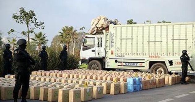 Casablanca: Saisie de 7 tonnes de résine de cannabis, le chef du réseau et 6 suspects