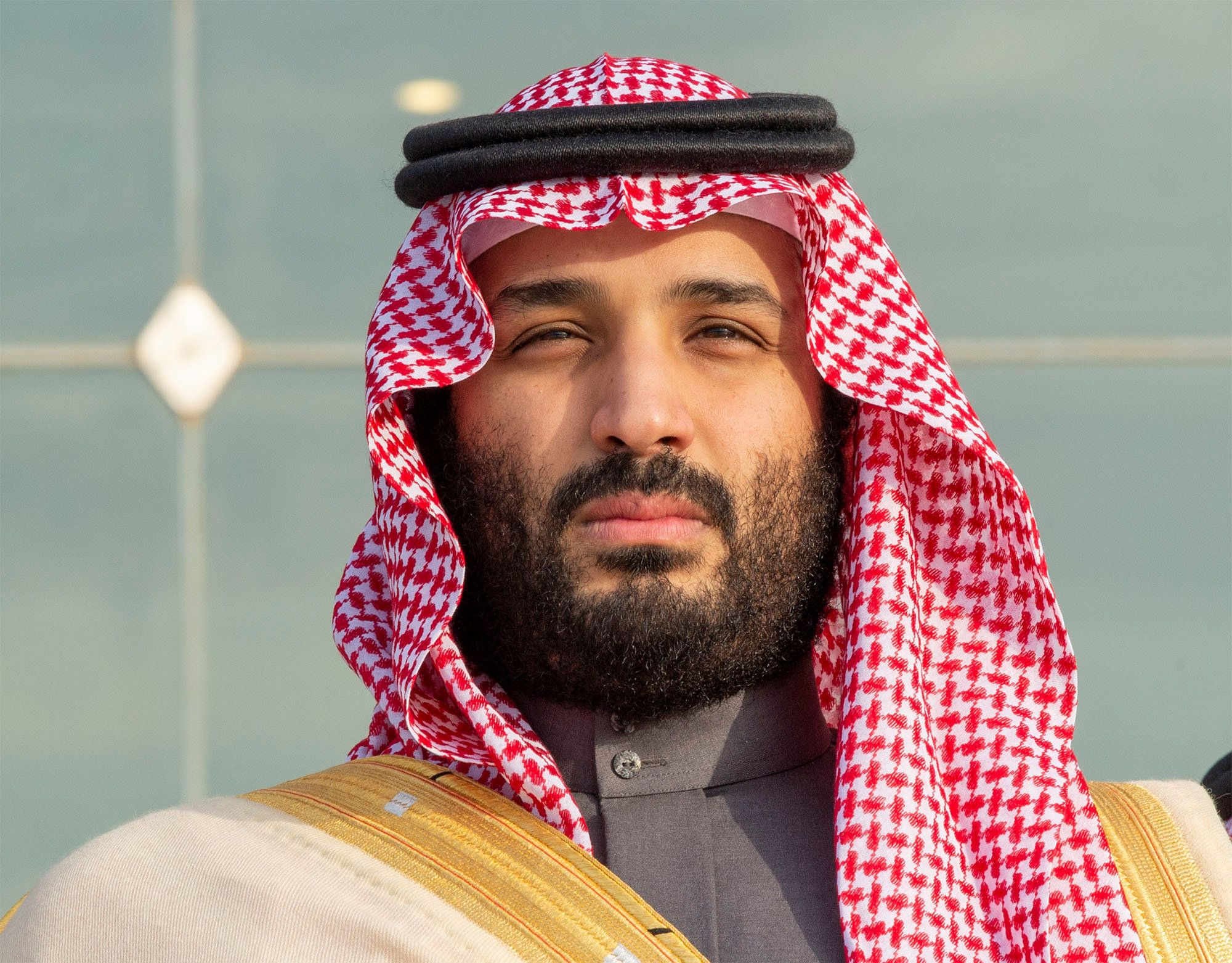 A file image of Saudi Arabia's Crown Prince Mohammed bin