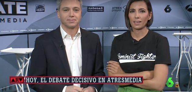 Ana Pastor entusiasma a Twitter con el mensaje de su camiseta en 'Al Rojo